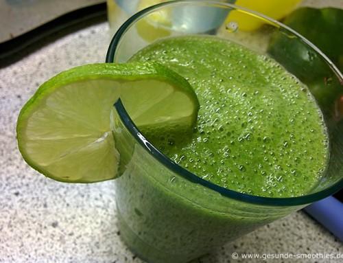 Gesundes Fasten mit grünen Smoothies Tag 2