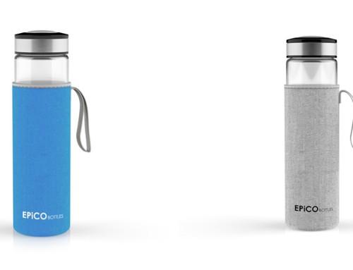 EPiCO BOTTLES – Trinkflaschen aus Glas