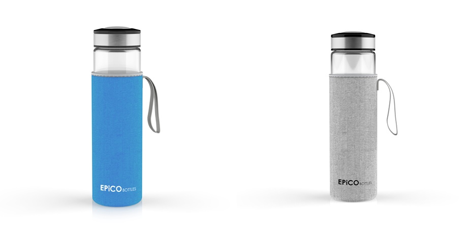epico bottles trinkflaschen aus glas gesunde smoothies. Black Bedroom Furniture Sets. Home Design Ideas